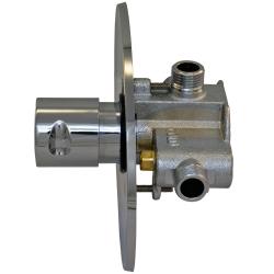 2x Dusch Set Zeitgesteuerte Unterputz-Mischerarmatur mit Duschkopf - Dusche - Kalt/Warm - selbstabschaltend