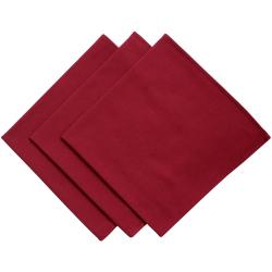 3er Pack Servietten 45cm x 45cm aus 100% Baumwolle in...