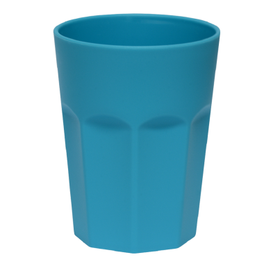 Kunststoffbecher Blau Trinkbecher Party-Becher Plastik Trink-Gläser Mehrweg 0,25l