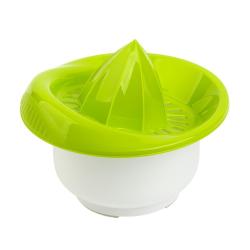 2x Zitronen-Zitrus-Saft-Hand-Presse Behälter...