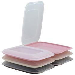 6er Farbmix - Set stapelbare Aufschnittbox...