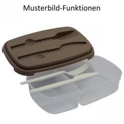 Vesperdose Lunchbox Frühstücksbox Aufbewahrungsdose Essensbox BPA-Free orange