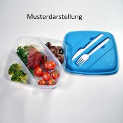 Lunchbox Frühstücksdose Vesperdose Aufbewahrungsdose Essensbox BPA-Free Rot