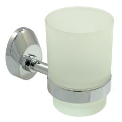 Design Mundspülglas Zahnputzbecher- echt Glas mit...