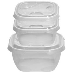 3er Packung Frischhaltedose Aufbewahrungsbehälter...