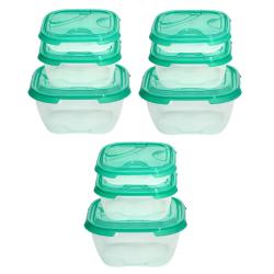 3x 3er Packung Frischhaltedose Aufbewahrungsbehälter...