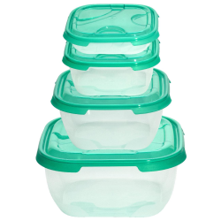 4er Packung Frischhaltedose Aufbewahrungsbehälter...