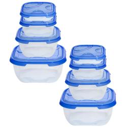 2x 4er Packung Frischhaltedose Aufbewahrungsbehälter...