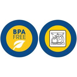 2x Farbiges Abtropfsieb Haushaltssieb Nudelsieb Gemüse Seiher Küchensieb BPA-frei Kunststoff Durchmesser 24,5 cm Spülmaschinen geeignet