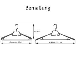 9 Kleiderbügel drehbarer klappbarer Haken Anti-Rutsch ausziehbare Auflage