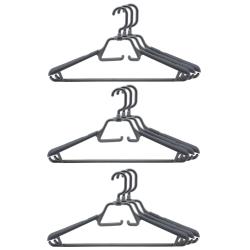 9 Kleiderbügel drehbarer klappbarer Haken...