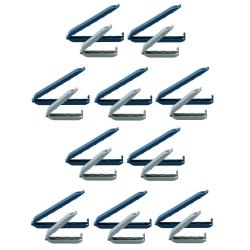 Tüten-Verschlussclips Klammerverschluss...