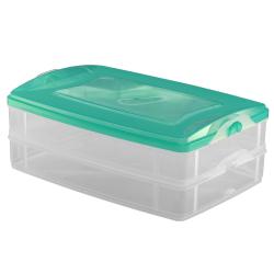2-teilige Frischhaltedose mit Deckel Behälter...