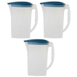 3x Saft Wasser Eistee Kanne Behälter...