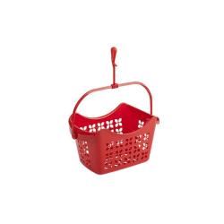 Wäscheklammer-hänge-korb PP-Kunststoff 23x15x13 mit Haken zum hängen