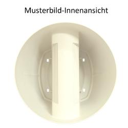 3x Blumentopf für Geländer Blumenkasten Geländerkasten Balkonkiste in Farbe Anthrazit