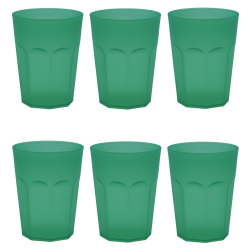 6x Kunststoffbecher Trinkbecher Party-Becher Plastik...