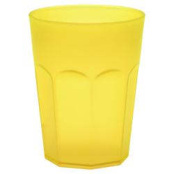 6x Kunststoffbecher Trinkbecher Party-Becher Plastik Trink-Gläser bruchsicher stapelbar Mehrweg 0,25l
