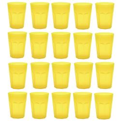 20x Kunststoffbecher Trinkbecher Party-Becher Plastik...