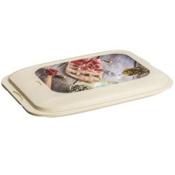Stapelbox Aufschnitt-Box Frischhaltedose Wurst...