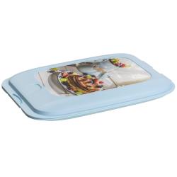 Stapelbox Aufschnitt-Box Frischhaltedose Wurst Behälter Aufschnitt-Dose