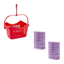 Wäscheklammerset-hänge-Korb mit 40 Klammern...