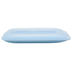 Stapelbox Aufschnitt-Box Frischhaltedose Aufschnittdose bunter Farbmix