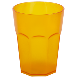12x Kunststoffbecher Trinkbecher Plastikbecher Trink-Gläser Mehrweg Bunt 0,4l