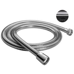 Handbrause / Funktionsbrause mit 4 Funktionen, Wasserstop und 200cm Brauseschlauch